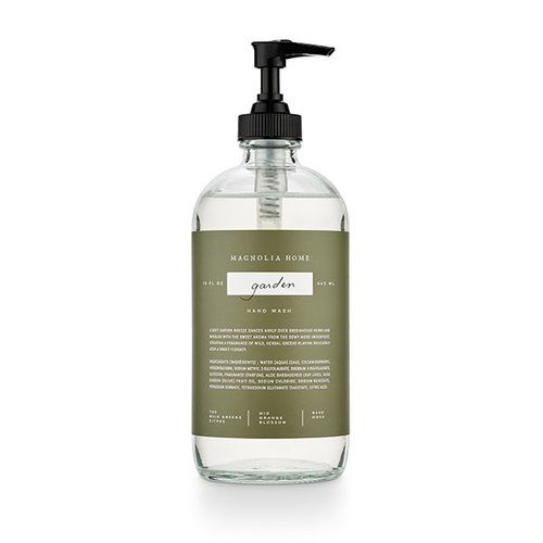 Glass Hand Wash - Garden