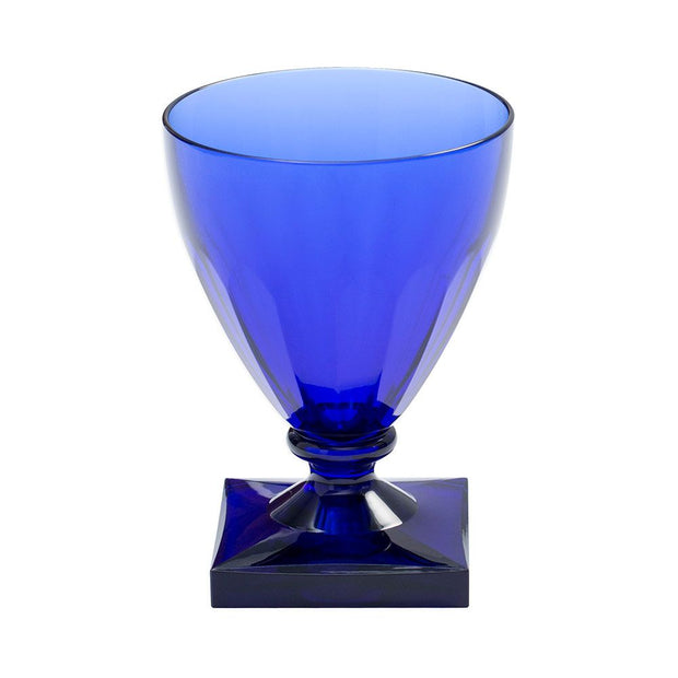 Acrylic Wine Goblet - Cobalt - Opal and Olive