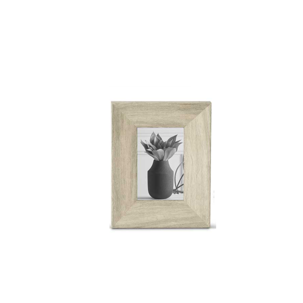 Graywash Wood Photo Frames