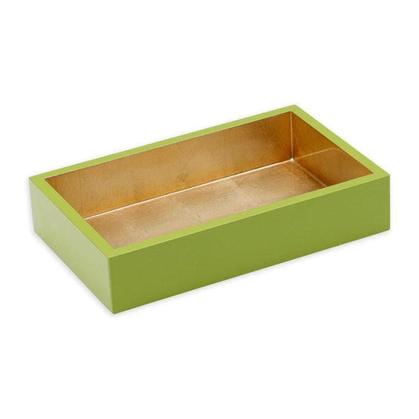 Sage & Gold Lacquer Holder - Guest