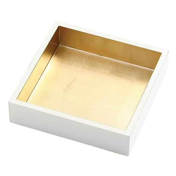 Ivory & Gold Lacquer Holder - Luncheon