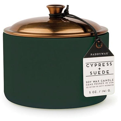 Hygge Candle - Cypress & Suede 5oz
