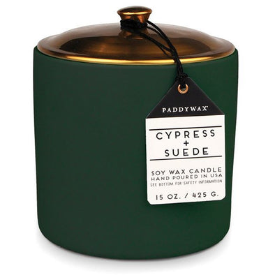 Hygge Candle - Cypress & Suede 15oz