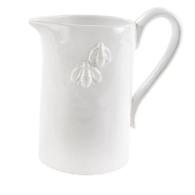 Bumblebee Pitcher White - Opal and Olive