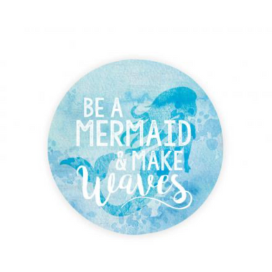Be a Mermaid Car Coaster