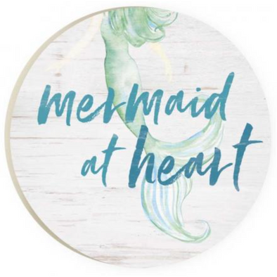 Mermaid at Heart Car Coaster