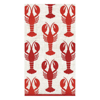Guest Towel Napkin - Lobsters