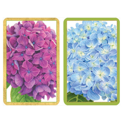 Hydrangea - Playing Cards Large Print