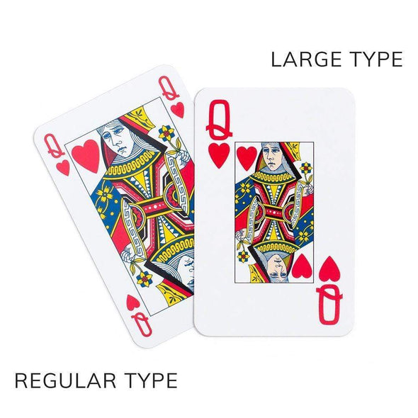 Potted Palms - Playing Cards Large Print