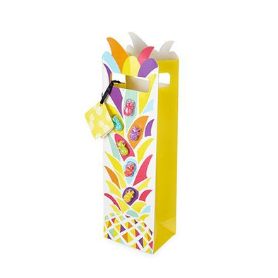 Multicolor Pineapple Wine Bag with Marks