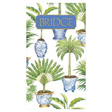 Potted Palms - Bridge Score Pad