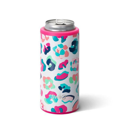 Skinny Can Cooler - Party Animal 12oz