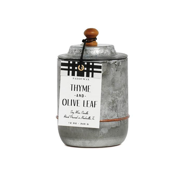 Homestead Candle - Thyme & Olive Leaf