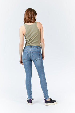 LEXY JEANS -  Westcoast Blue Ripped