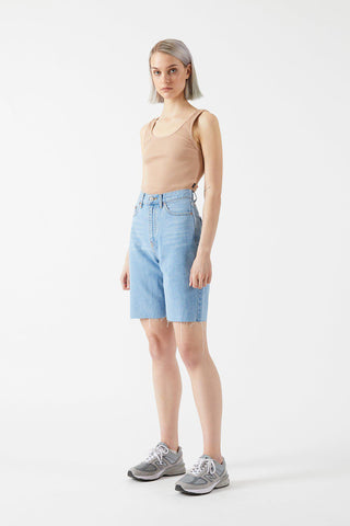 ECHO SHORTS- Empress light blue