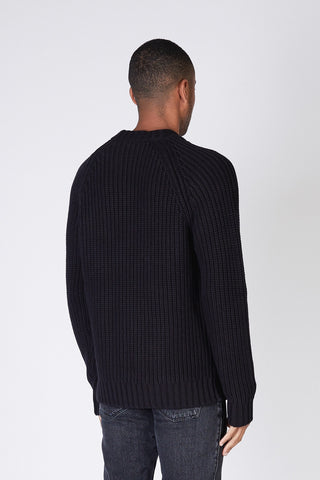 HELIX SWEATER - Black