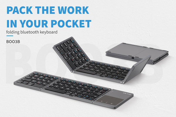 Business Insider:This portable Bluetooth keyboard folds up to be under 6 inches wide for easy portability