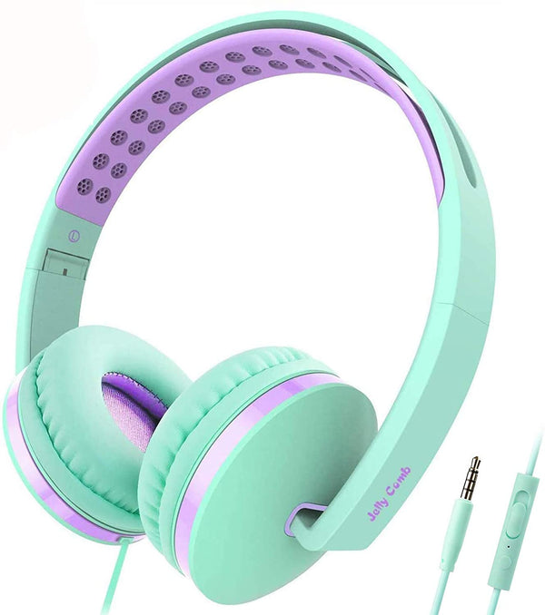 Kids Headphones for School Jelly Comb  YP018 over-ear Headphone with Mic
