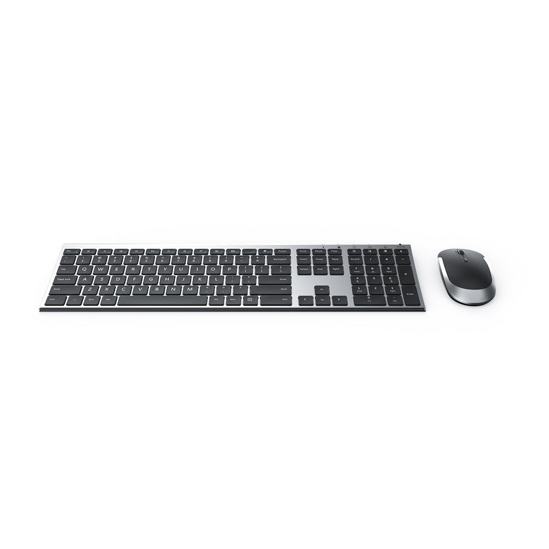 KUS015 Ultra-Slim Wireless Keyboard & Mouse Combo