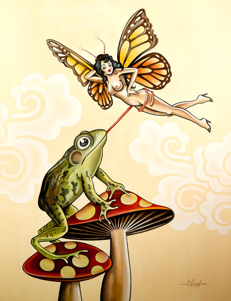 Frog and Butterfly - Choice Goods Gallery