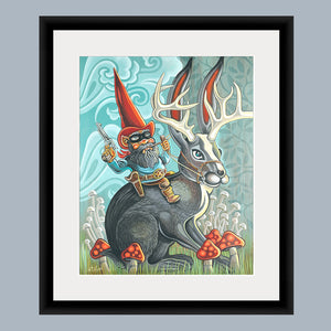 The Gnome Ranger Fine Art Print