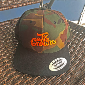 Tx Grown® Flat Bill Camo Hat