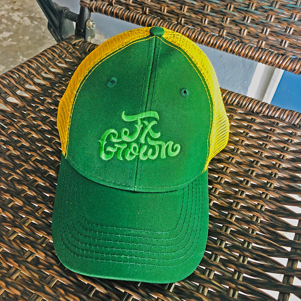 Tx Grown® Green/Yellow Trucker Hat