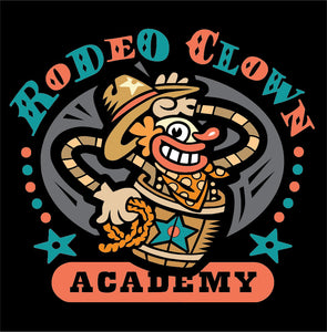Rodeo Clown Academy Short-Sleeve Unisex T-Shirt - Choice Goods Gallery