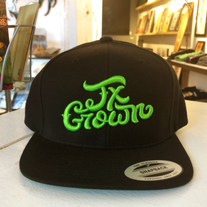 Tx Grown Black Hat - Choice Goods Gallery