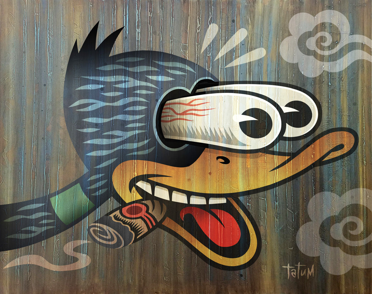 Duck with Cigar - Choice Goods Gallery