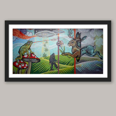 Through The Rabbit Hole Fine Art Print