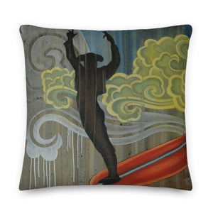 Matador Surfer Pillow