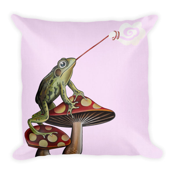Frog Catching Cloud Premium Pillow - Choice Goods Gallery