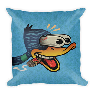 Wood Duck with Cigar Pillow - Choice Goods Gallery