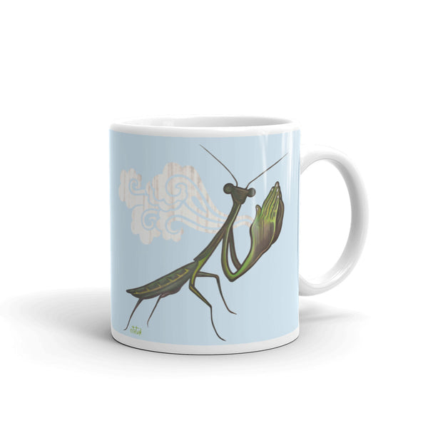 Praying Mantis Mug - Choice Goods Gallery