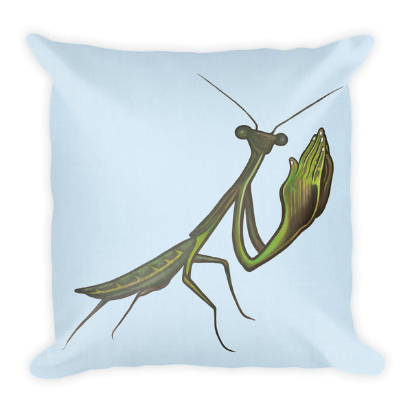 Praying Mantis Premium Pillow - Choice Goods Gallery