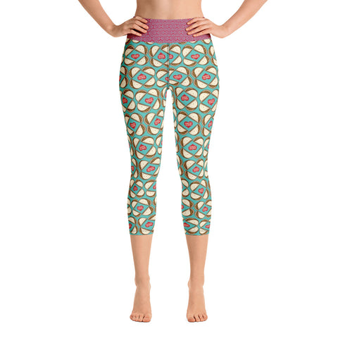 Taco Power Yoga Capri Leggings - Choice Goods Gallery