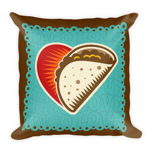 Taco LOVE! Premium Pillow - Choice Goods Gallery