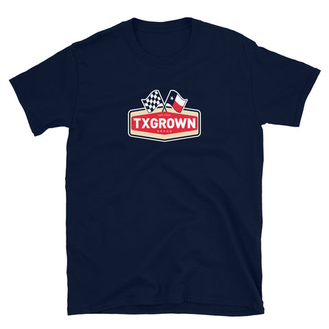 TX Grown® Racing Flag Short-Sleeve