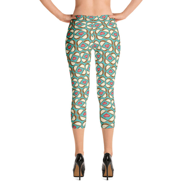 Taco Power Capri Leggings - Choice Goods Gallery