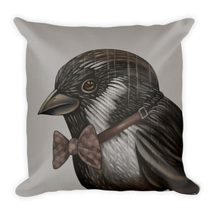 Bird With Bowtie Pillow - Choice Goods Gallery