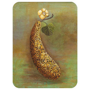 Squash Blossom Glass Cutting Board - Choice Goods Gallery