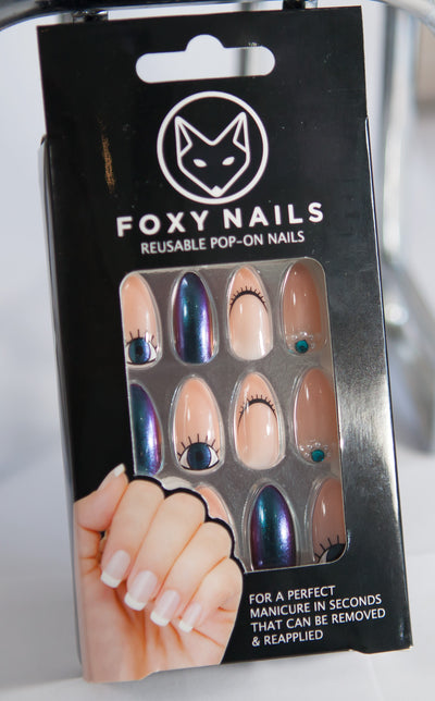 "New Fake Nails Shipment arrival ""Cat Eyes"""