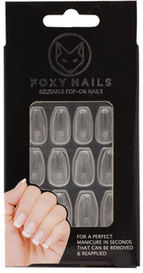 Canvas Clear - Coffin Nails