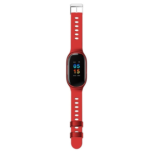 MFS M1 Smart Watch With Bluetooth Headphone  (Android, IOS)