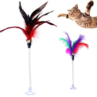 Feather Bell Cat Toy