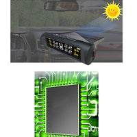 Wireless Tire Pressure Monitoring System - Digital Solar Powered TPMS