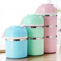 Lunch box leakproof stainless steel lunch box children portable picnic school food container kitchen supplies