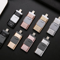 Android Applicable Phone USB Flash Drive Dual Head 3 In 1