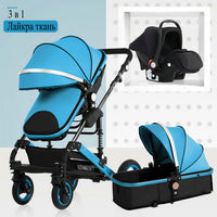 high landscape 3 to 1 baby stroller